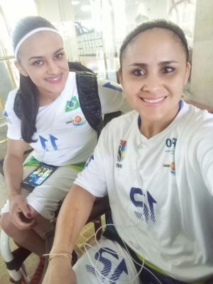 fec69ac4a ... vão tentar, junto da seleção brasileira, ficar entre as quatro melhores equipes  na Copa América de Basquete em Cadeira de Rodas, garantindo a vaga ...